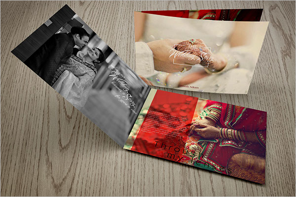 Free wedding Photography Brochure PSD