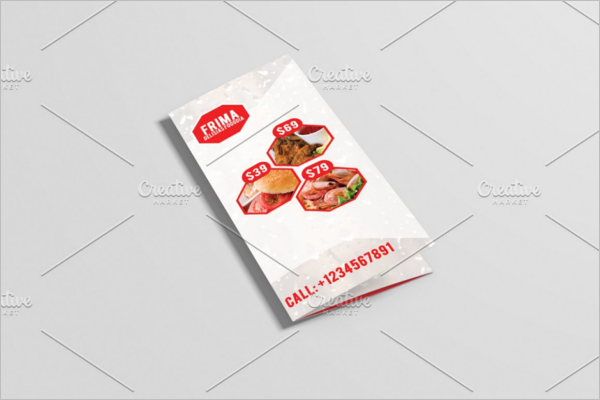 Frima Food Brochure Design