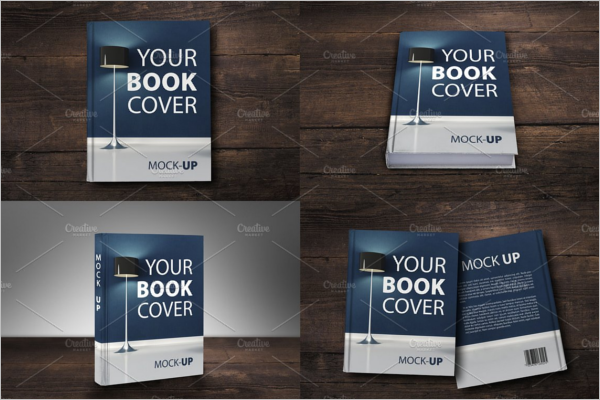 Front & Back Book Cover Mockup