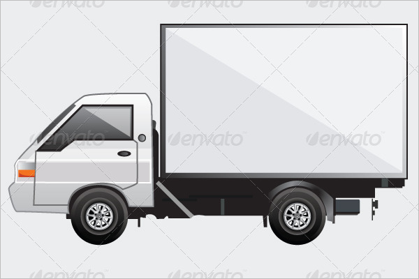 Fully Editable Truck Mockup