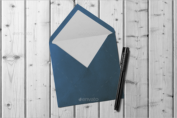 Fully Envelope Mockup