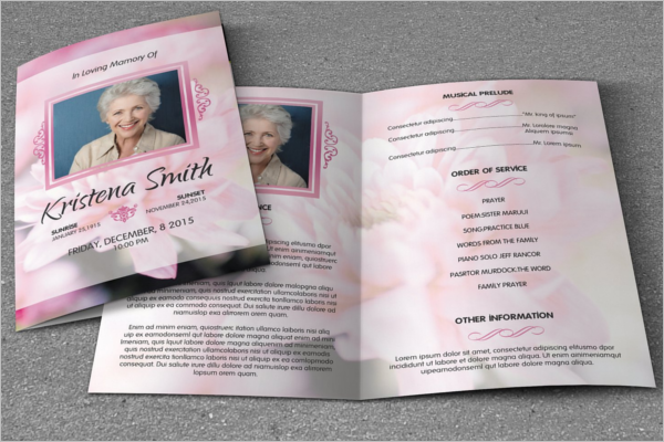 Funeral Brochure Design Idea