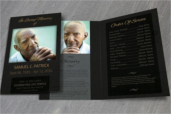Funeral Home Brochure Sample