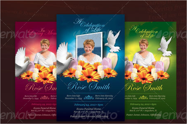Funeral Services Brochure Design