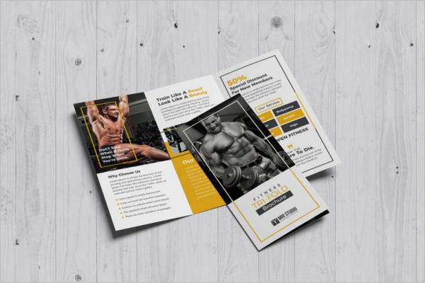 GYM Agency Brochure Template