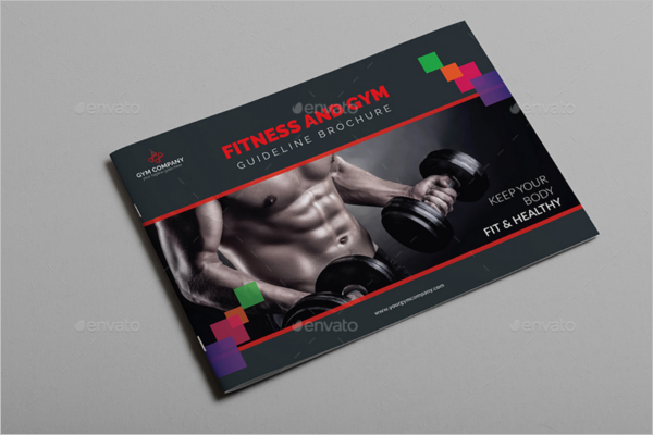 GYM Brochure Business Template