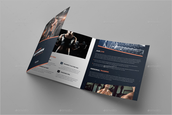 GYM Brochure Object Template