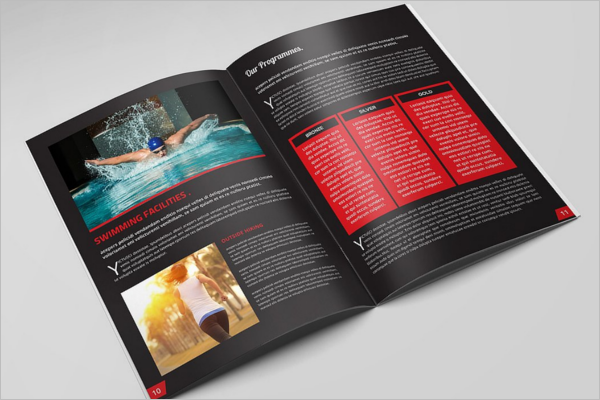 GYM Brochure Template Model