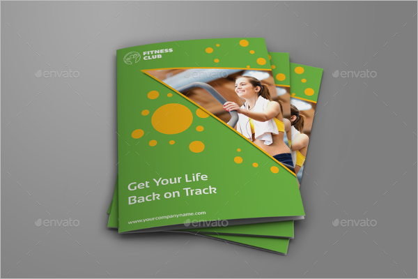 GYM Institute Brochure Template