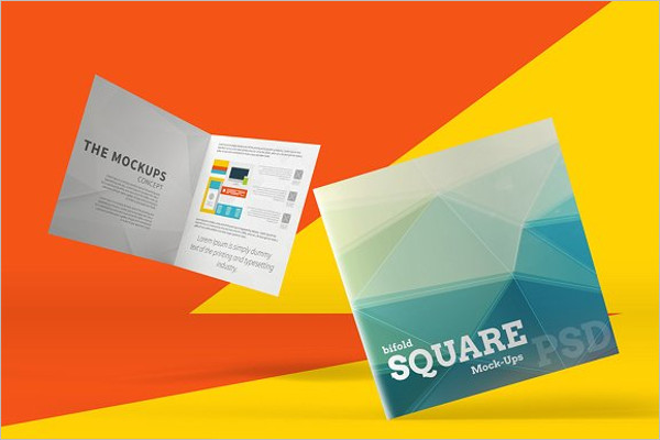 Graphic Brochure Mockup