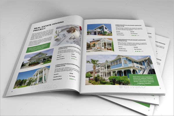 Graphic Real Estate Brochure Template