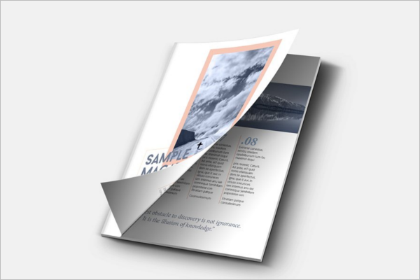 Graphical Brochure Template