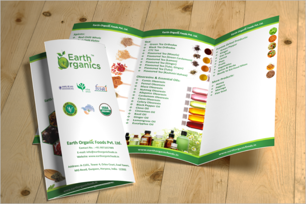 Graphical Free Brochure Design