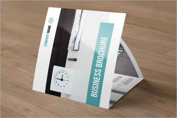 HD Brochure Template Free PSD