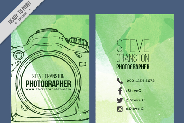 Hand Drawn Photography Brochure