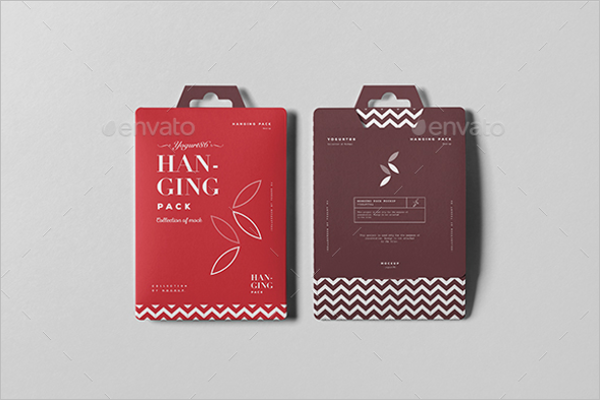 Hanging Bag Mockup Design