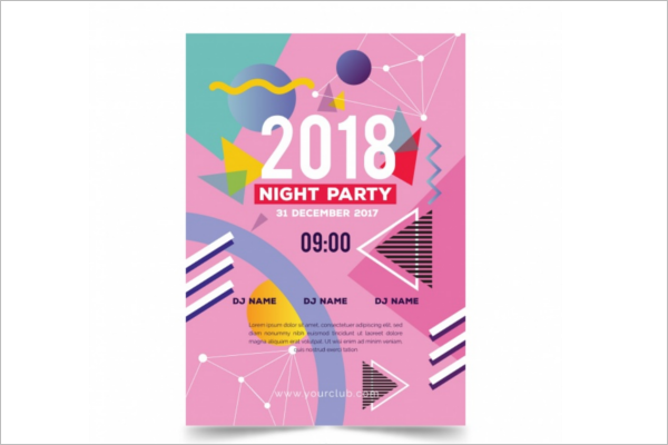 Happy New Year Brochure Free