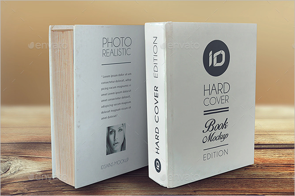 Hardcover Cover Book Mockup