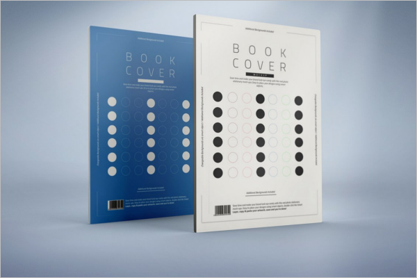 High Quality Book Cover Mockup