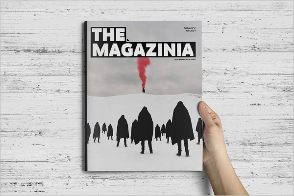 High Quality Magazine Brochure Template