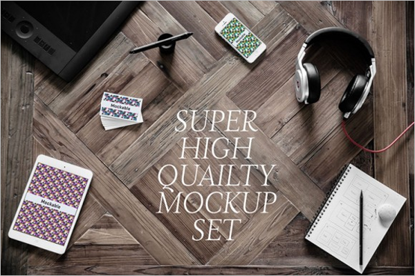 High Quality Mockup Design