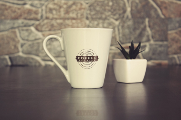 High Qulity Coffee Cup Mockup