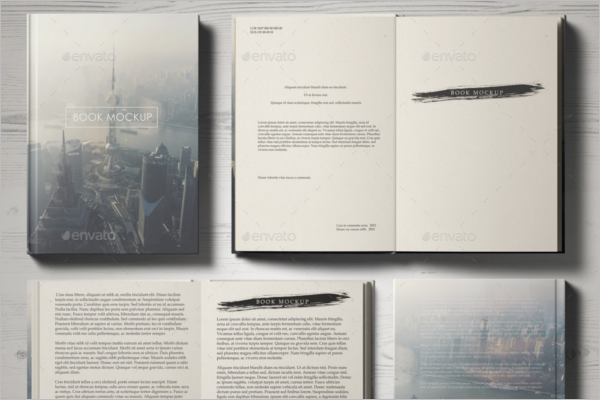 High Resolutation Book Mockup