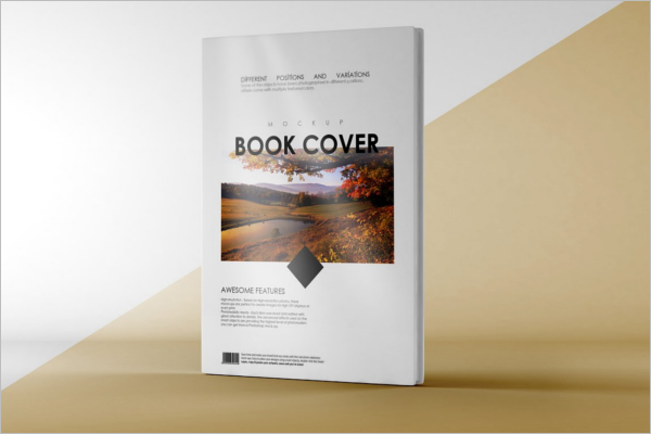 High Resolution Book Cover Mockup