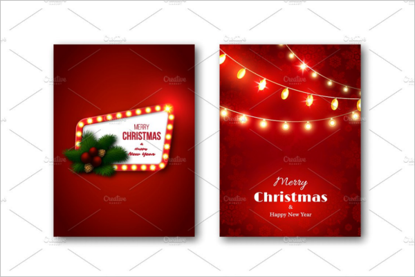 High Resolution Christmas Brochure Template