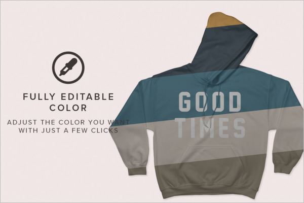 High Resolution Hoodie Mockup Design