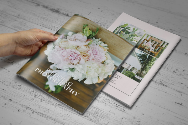 High Resolution Weeding Brochure Template