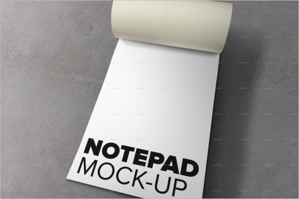Highquality Notepad Mockup