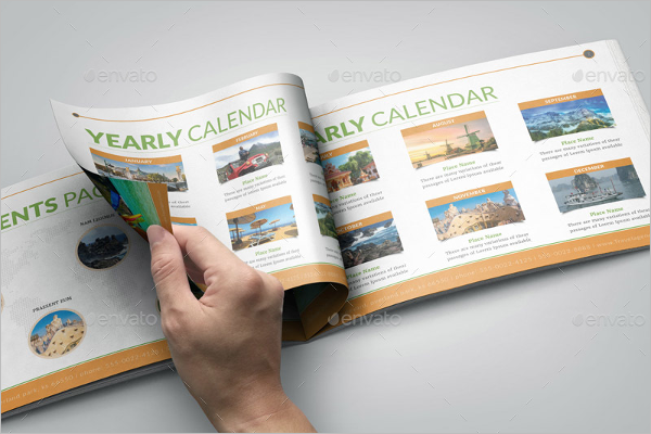 Holiday Pack Booklet Brochure Template