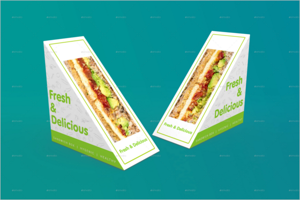 Hot Dog Packing Mockup