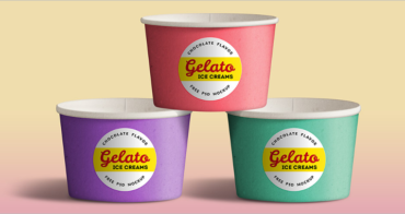 Ice Cream Cup Mockups