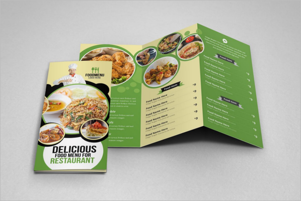 Illustraction Restaurant Brochure