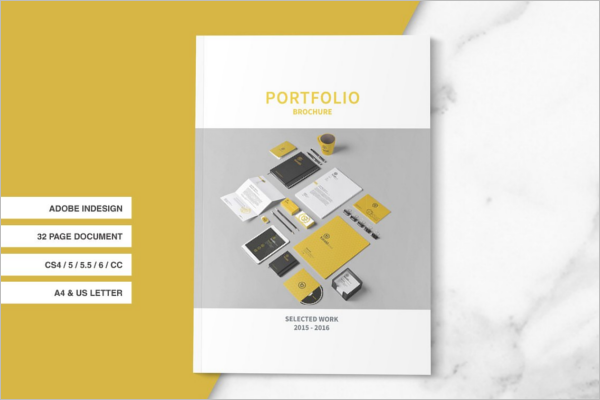 InDesign A4 Size Brochure Template
