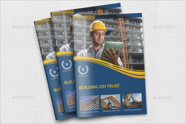 InDesign Construction Brochure Template