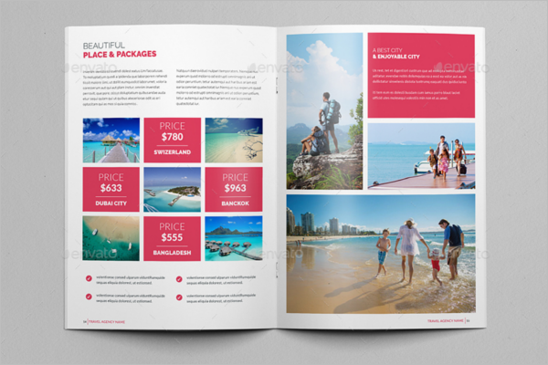InDesign Holiday Brochure