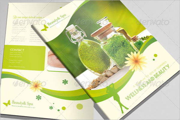 Indesign Brochure Cosmetic Store Template
