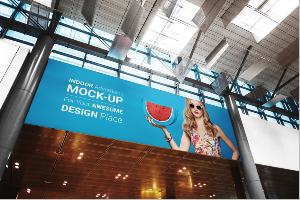 Indoor Billboard Mock-Up