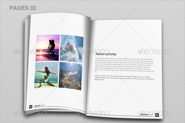 Informational Travel Brochure Template