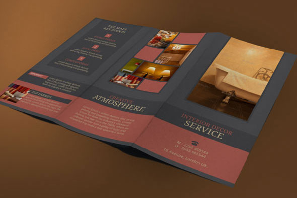 Interior Brochure Design Free Download