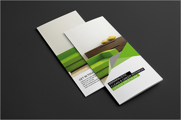 Interior Brochure Design PSD free