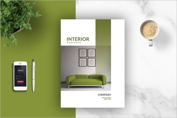 Interior Brochure Template 2018