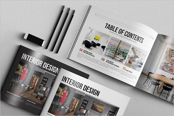 Interior Design Brochure Model