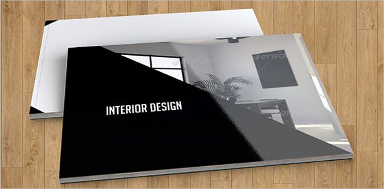 Interior Design Brochure Templates