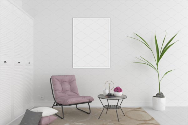 Interior Wall Art Mockup