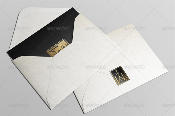 Invitation Card Effect Mockup
