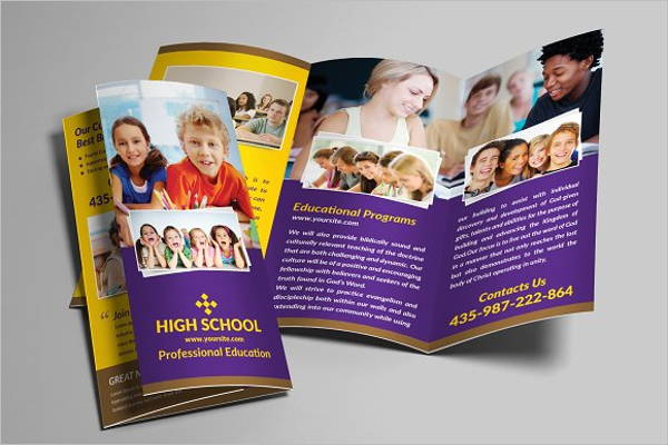 Kids Brochure Template